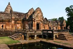 Panomrung history park Stock Images