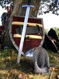 Panoplia del cavaliere Fotografia Stock Libera da Diritti
