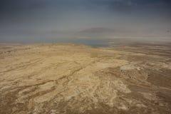 Panorámico del desierto de Judean foto de archivo libre de regalías