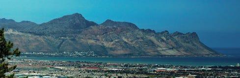 Panorâmico da costa, África do Sul imagem de stock