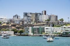 Panorâmico de Salvador de Bahia Brazil fotografia de stock