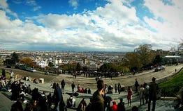 Panorâmica de Vista Imagen de archivo