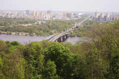 Panoram? de Kiev Fotografia de Stock Royalty Free