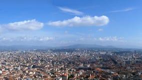 Panoram de la ciudad de Marsella Imágenes de archivo libres de regalías