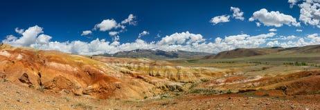 Panoram del paesaggio di Chagan Uzun Fotografie Stock