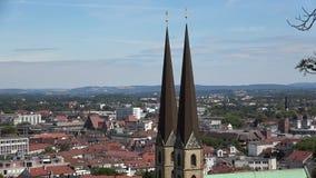 Panoram miasta Bielefeld, Niemcy zbiory