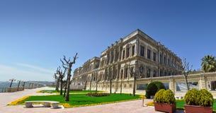 Panorama of the Çırağan Palace Stock Photography