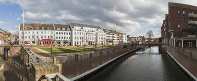 panorama élevé de définition de l'Allemagne de ville de kleve image libre de droits