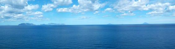 Panorama éolien Image libre de droits