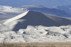 Panorama #1 de dunes d'Eureka Photographie stock