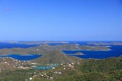 Panorama stock afbeelding