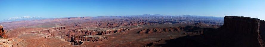 Panorama 2 de Canyonlands Fotos de archivo libres de regalías