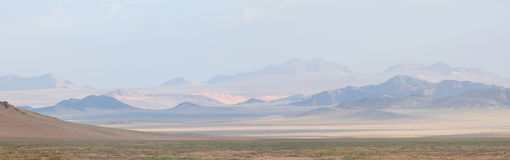 Panorama 2 de Namib Foto de archivo