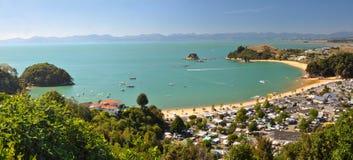 Panorama 2, Nouvelle Zélande de Kaiteriteri Image stock