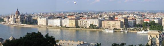 Panorama 2 van Boedapest Royalty-vrije Stock Foto's