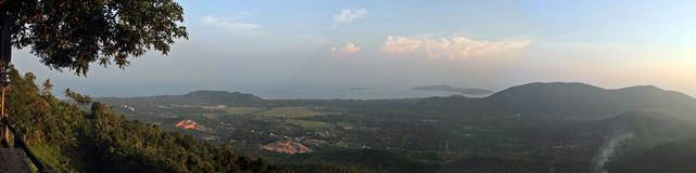 Panorama fotografie stock