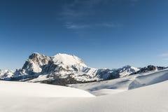 Panorama 4 da neve Fotografia de Stock Royalty Free
