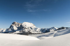 Panorama 4 della neve Fotografia Stock Libera da Diritti
