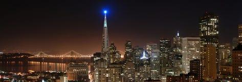 Panorama 4 van San Francisco Stock Afbeeldingen