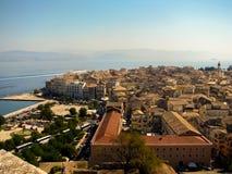Panorama 5 de la ciudad Imágenes de archivo libres de regalías