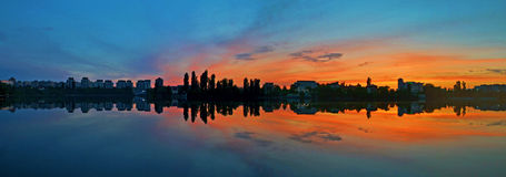 panorama- Arkivfoto
