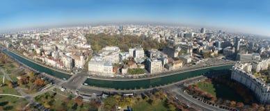 Panorama aéreo Fotografía de archivo libre de regalías