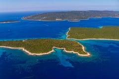 Paisaje adriático - Croacia Fotos de archivo libres de regalías