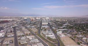 Panorama aéreo de Las Vegas almacen de video