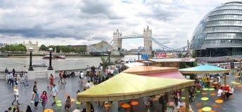 Panorama aéreo de Londres Fotografía de archivo libre de regalías