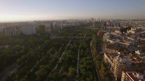 Panorama aéreo de Valencia, España metrajes