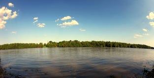 Panorama aan de aard Royalty-vrije Stock Foto
