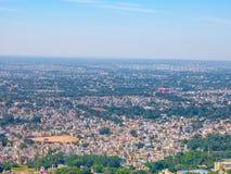 Panorama aan de stad van Mysore, India Stock Afbeeldingen