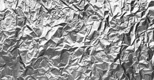 Panorama- abstrakt silverfoliebakgrund Arkivfoton