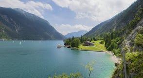 Panorama Achensee Tirol Stockfotografie