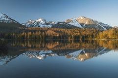 Panorama adorabile nelle montagne Fotografia Stock Libera da Diritti
