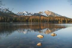Panorama adorabile nelle montagne Fotografie Stock Libere da Diritti
