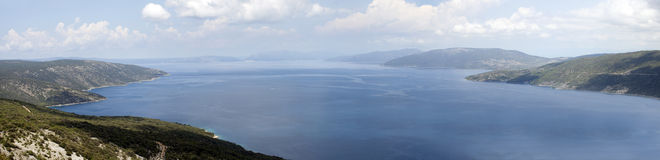 Panorama of Adriatic sea Royalty Free Stock Images