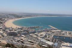 Panorama Agadir Obraz Stock