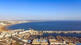 Panorama Agadir, Maroko Zdjęcia Stock