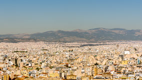 Panorama of Ahtens Stock Photography