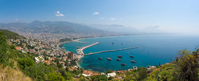 Panorama Alanya Stock Photos