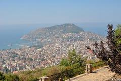 Panorama Alanya, Turcja Zdjęcie Royalty Free