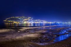 Panorama of Alanya, Turkey Stock Image