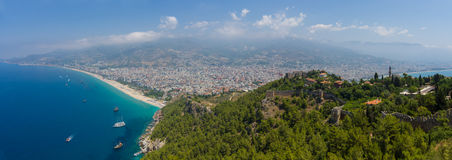 Panorama Alanya Royalty Free Stock Image