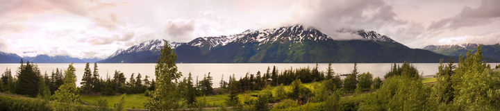 Panorama of alaska Stock Images