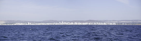 Panorama of Albufeira in Portugal Stock Image
