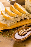Panorama alemán del pan de pan amargo Imágenes de archivo libres de regalías