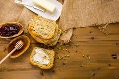 Panorama alemán del pan de pan amargo Fotografía de archivo libre de regalías