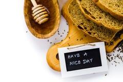Panorama alemán del pan de pan amargo Imagenes de archivo
