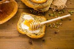 Panorama alemán del pan de pan amargo Fotografía de archivo